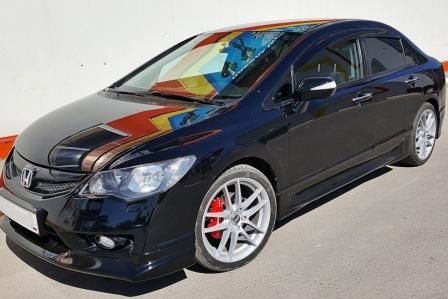 Автобаферы Honda Civic